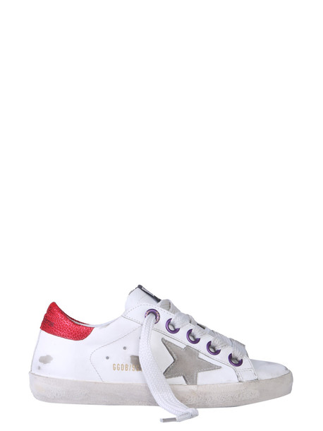 Golden Goose Superstar Sneakers in bianco