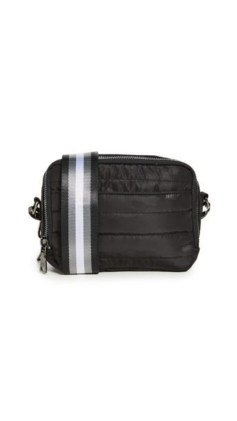 Think Royln Double Zip Crossbody Bag in black