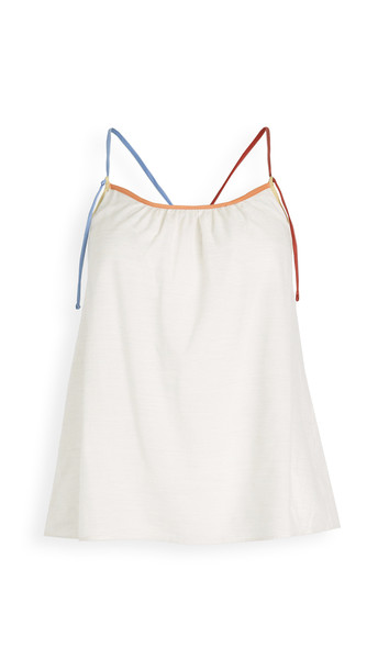 Madewell Strappy Colorblock Pajama Top