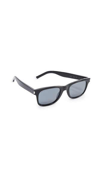 Saint Laurent SL 51 Classic Sunglasses in black / grey