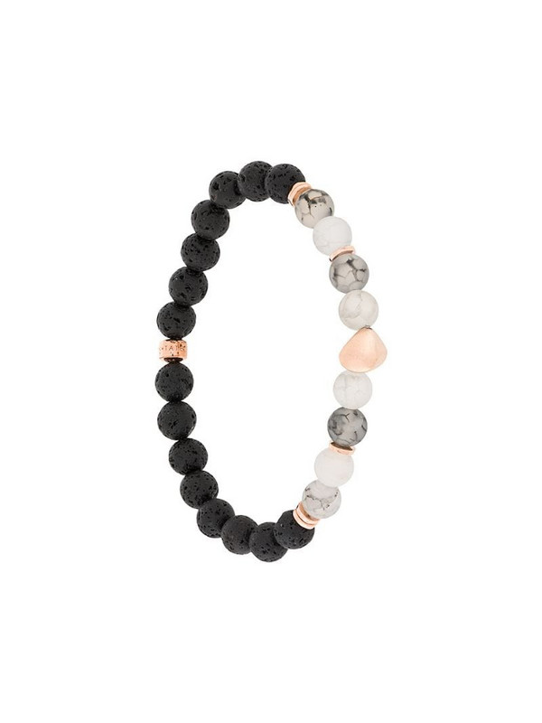 Tateossian Nugget bracelet in black