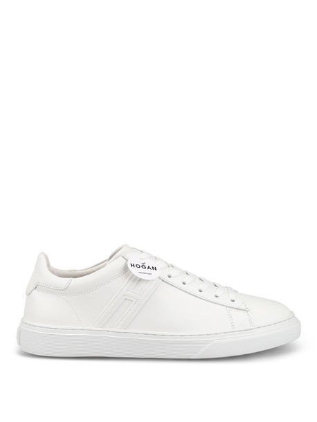 Hogan H365 White Leather Lace-up Sneakers Hxm3650j960klab001