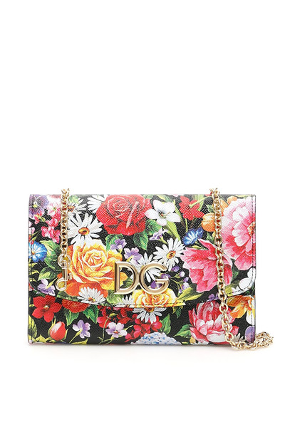 Dolce & Gabbana Giardino Print Wallet Bag