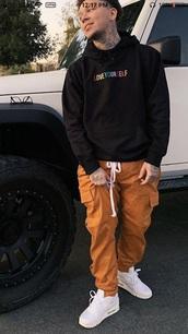 jeans,orange phora