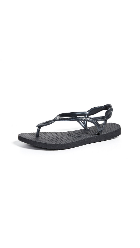 Havaianas Luna Sandals in black