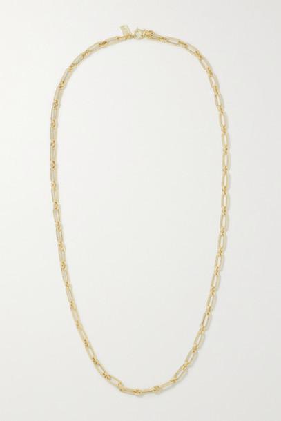 Lauren Rubinski - Small 14-karat Gold Necklace