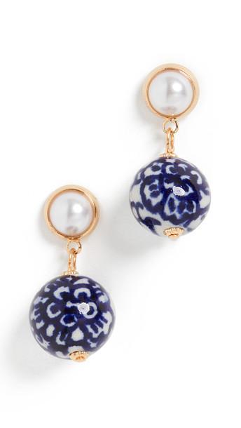 Shashi Refined Earrings in blue