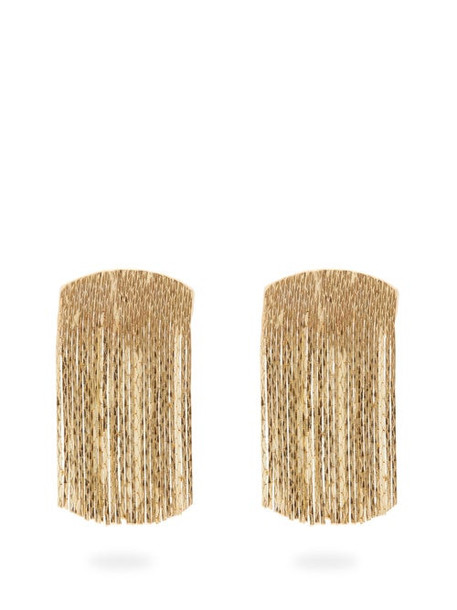 Anissa Kermiche - Fil D'or Gold-plated Earrings - Womens - Gold