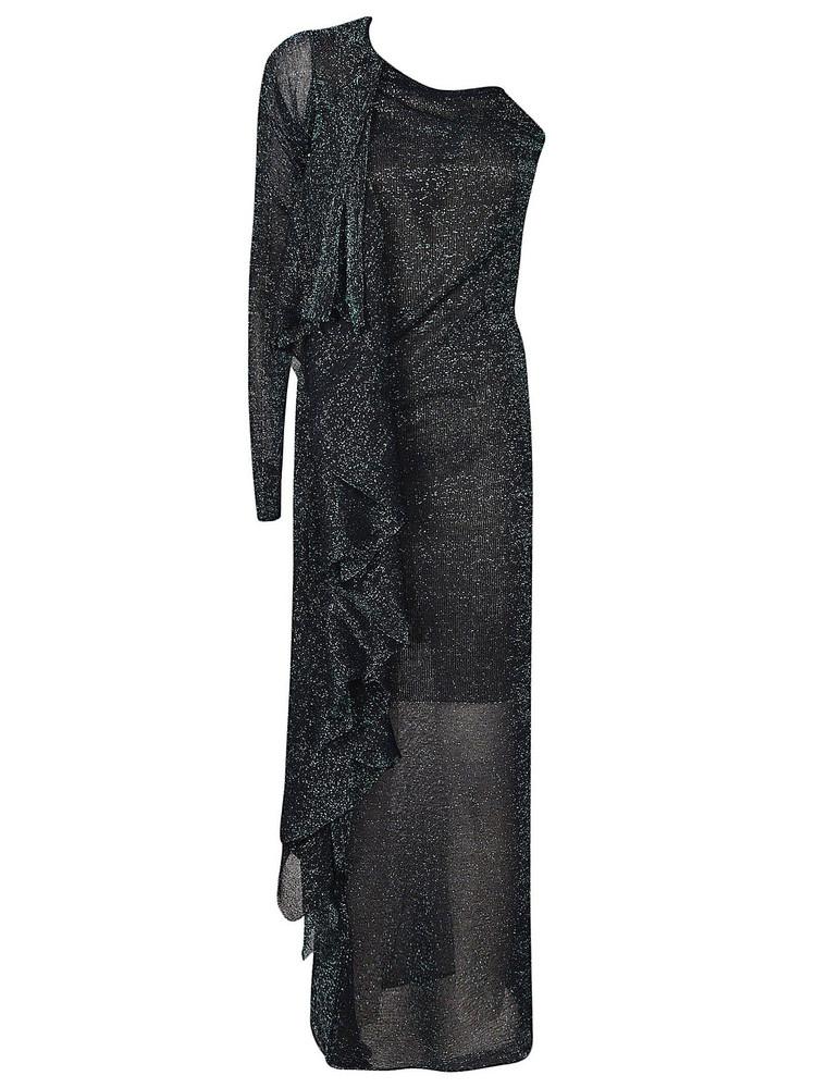 Circus Hotel Glittered Dress in black
