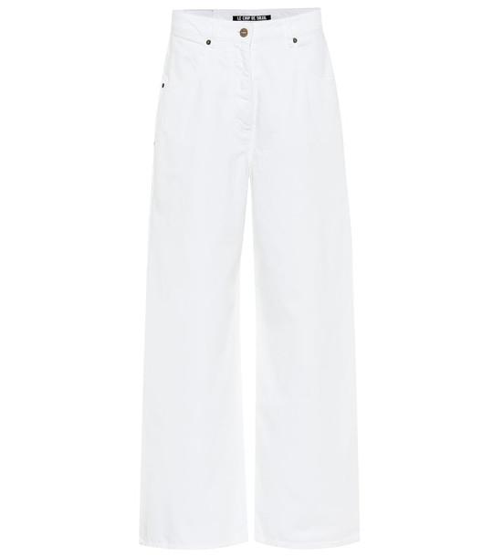 Jacquemus Le Jean De Nîmes wide-leg jeans in white