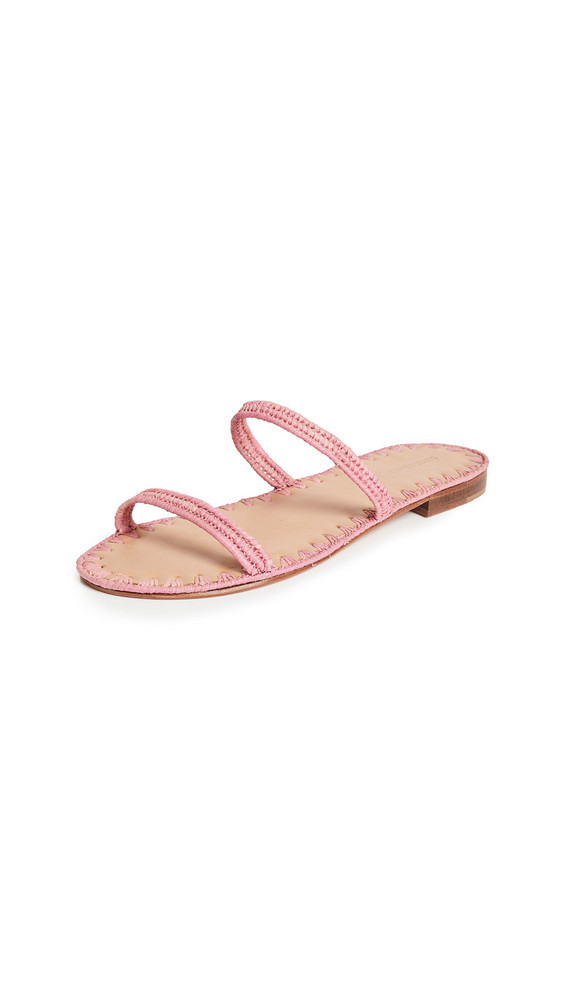 Carrie Forbes Salam Slide Sandals in pink
