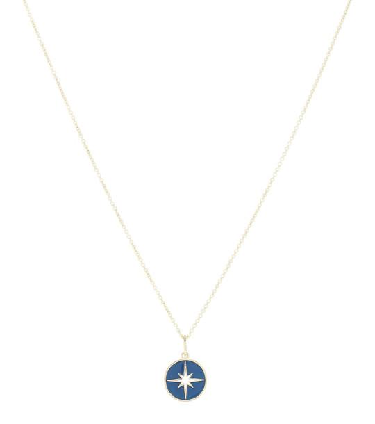 Sydney Evan Starburst 14kt yellow gold necklace
