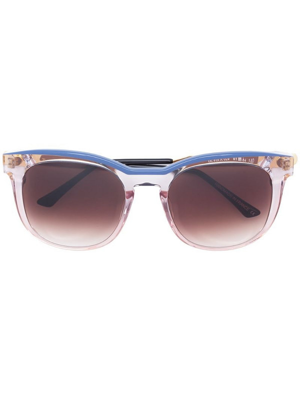 Thierry Lasry clear effect square sunglasses in pink