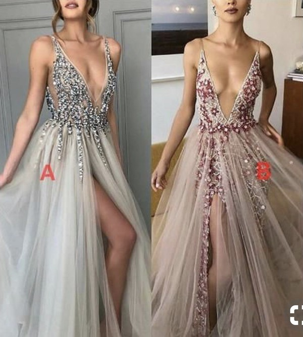 dress prom dress floral sparkly dress sparlkly red pink grey