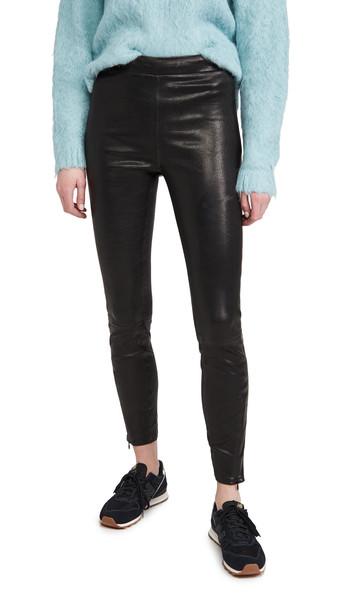 J Brand Octavia High Rise Skinny Pants in black