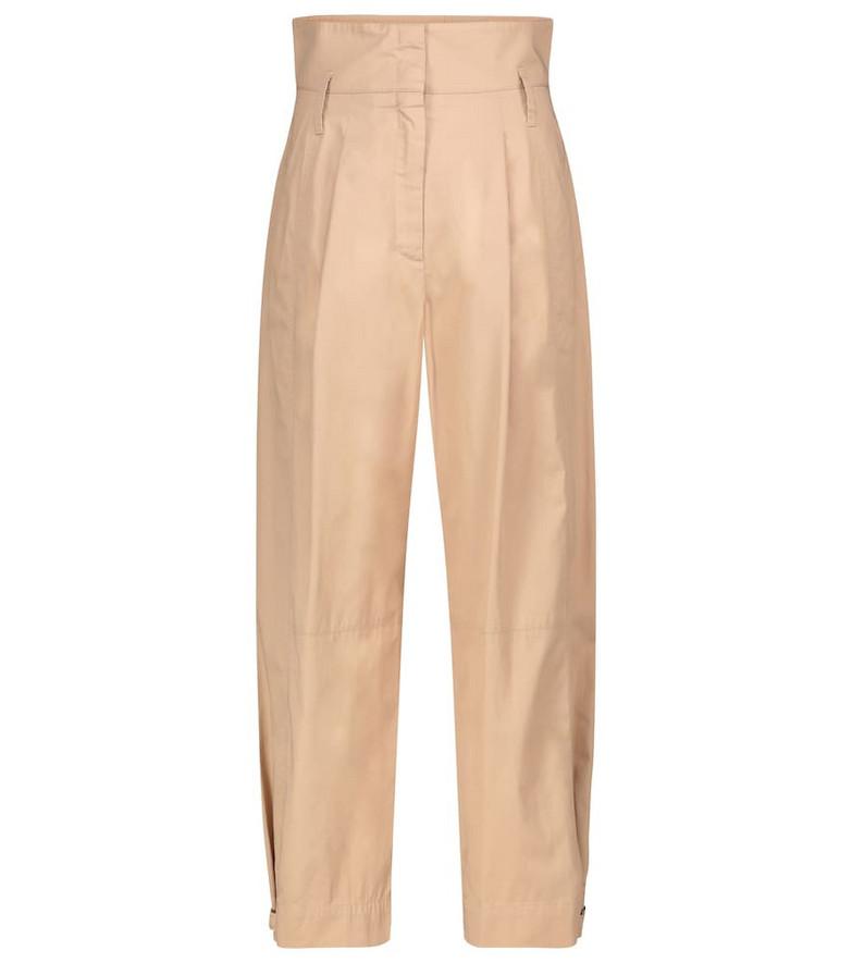 Dorothee Schumacher Sporty Power cotton pants in beige
