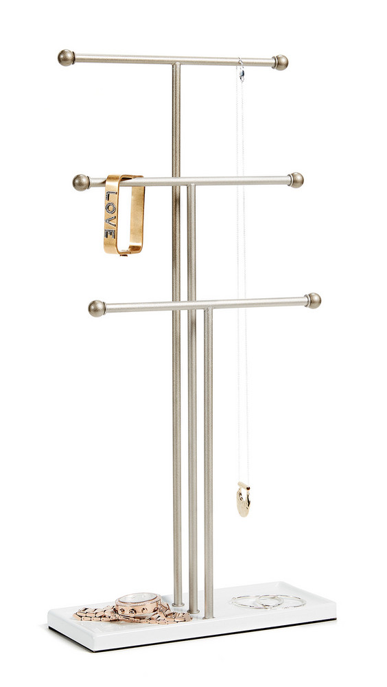 Shopbop Home Shopbop @Home Trigem Jewelry Stand in white
