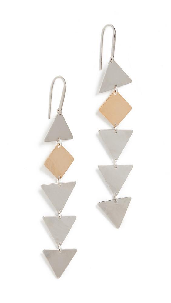 Isabel Marant Geometric Earrings in silver