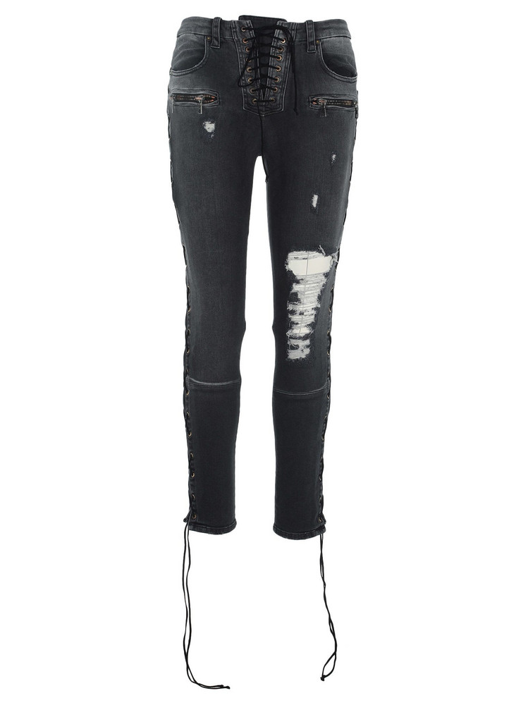 Ben Taverniti Unravel Project Unravel Unravel Project Ripped Skinny Jeans in black