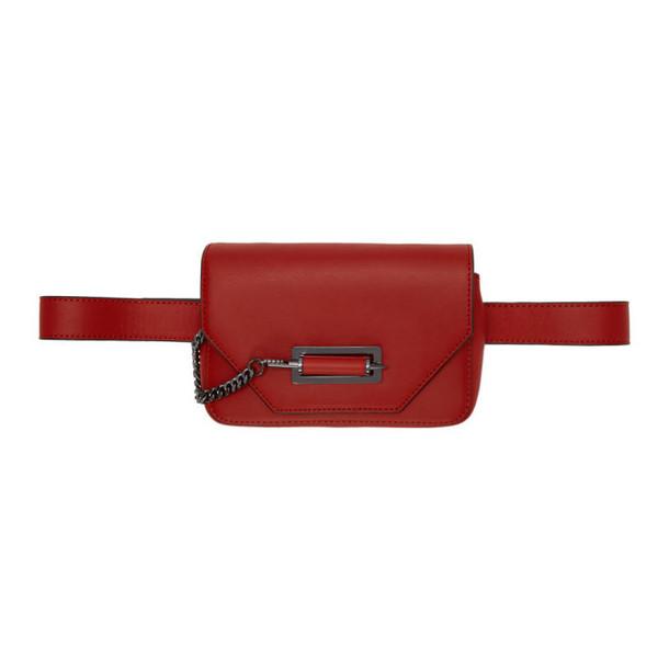 Mackage Red Devin Money Belt Bag