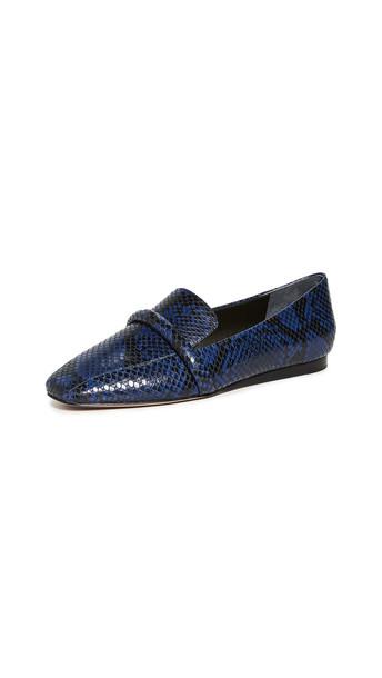 Veronica Beard Grier Loafers in indigo