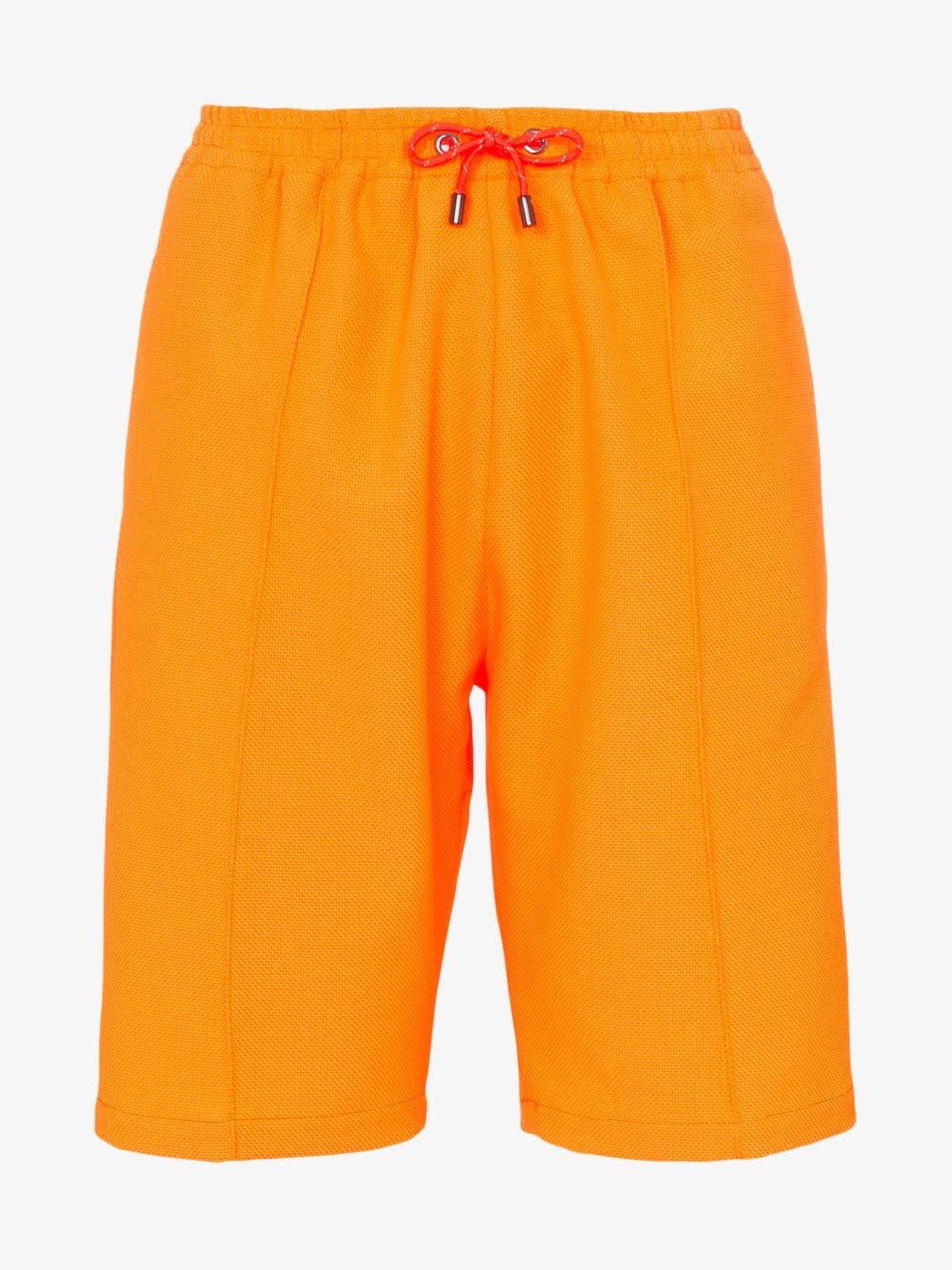 HOUSE OF HOLLAND drawstring waist shorts in orange