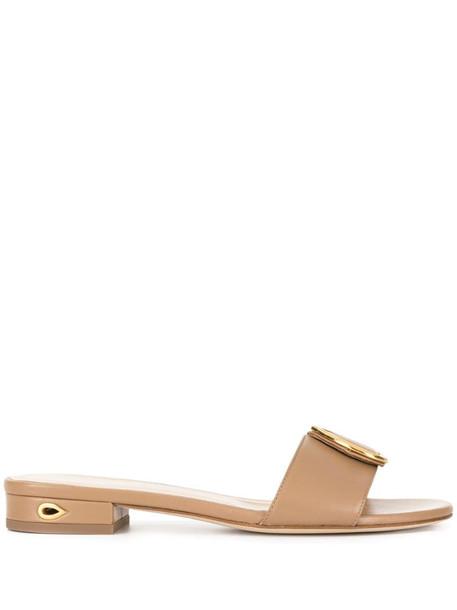 Jennifer Chamandi Andrea open-toe sandals in brown
