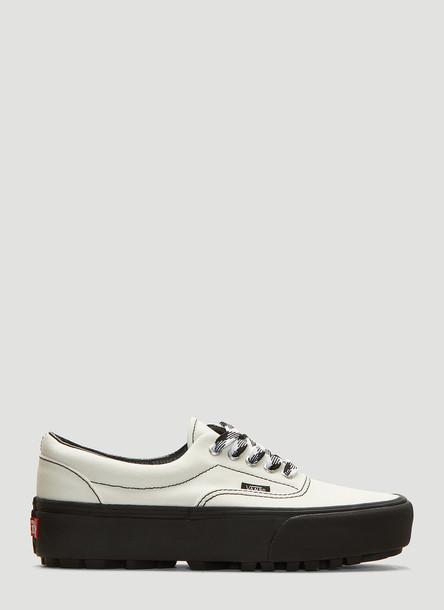 Vans Era Lug Platform Sneakers in White size US - 06