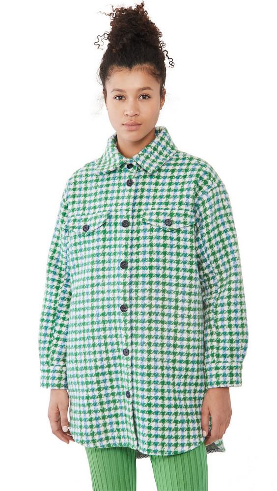 MUNTHE Target Jacket in green