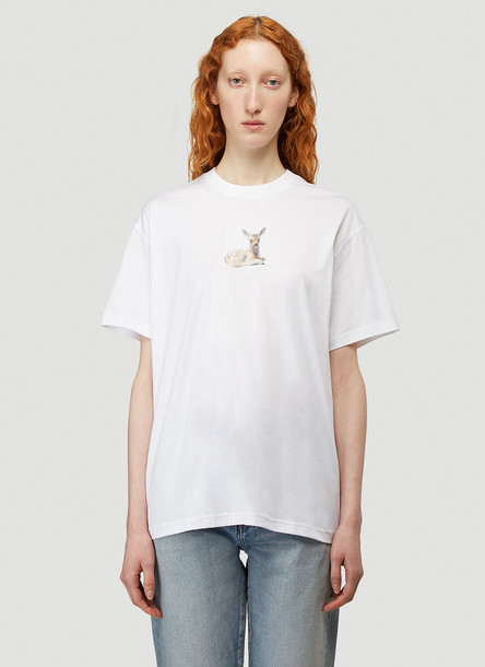 Burberry Bambi T-Shirt in White size S