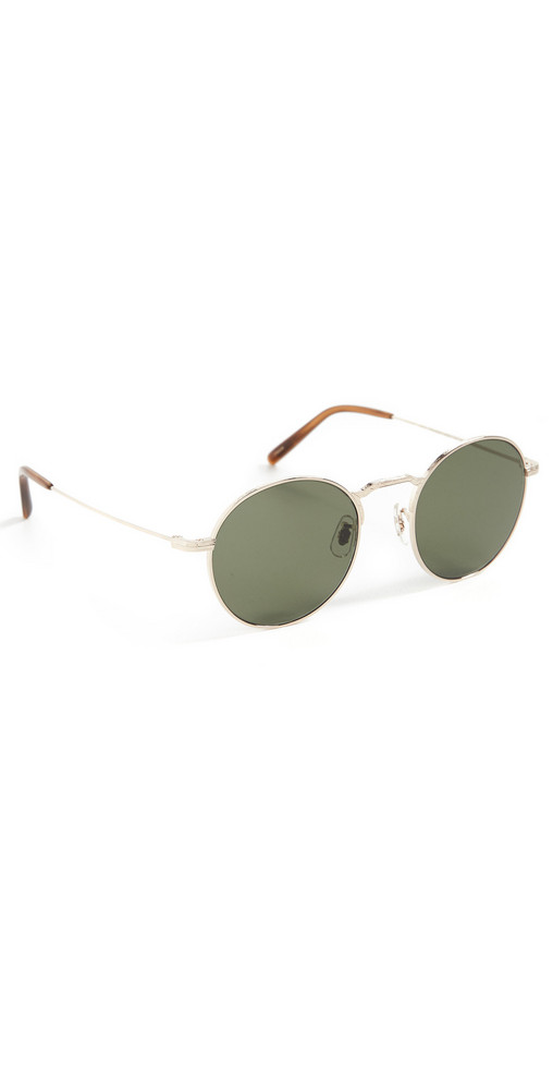 Oliver Peoples Eyewear Weslie Sun Sunglasses in gold