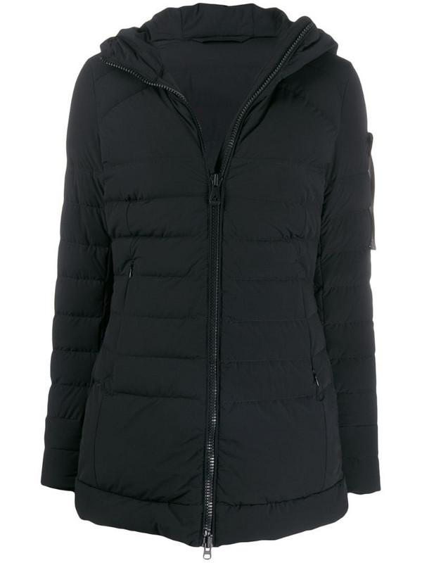 Peuterey hooded down coat in black