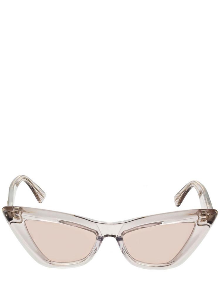 BOTTEGA VENETA Pointed Cat-eye Sunglasses in pink