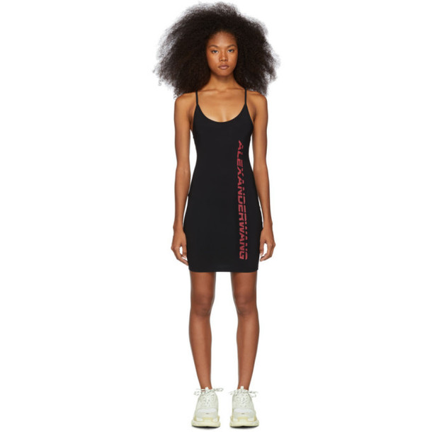 alexanderwang.t Black Swim Jersey Dress
