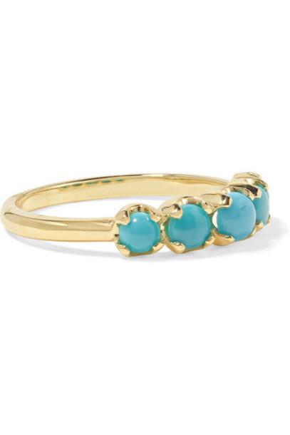 Jennifer Meyer - 18-karat Gold Turquoise Ring