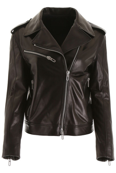 DROMe Biker Jacket in black