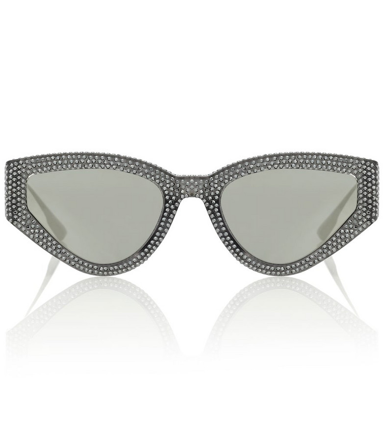 Dior Sunglasses Dior1S embellished sunglasses in black