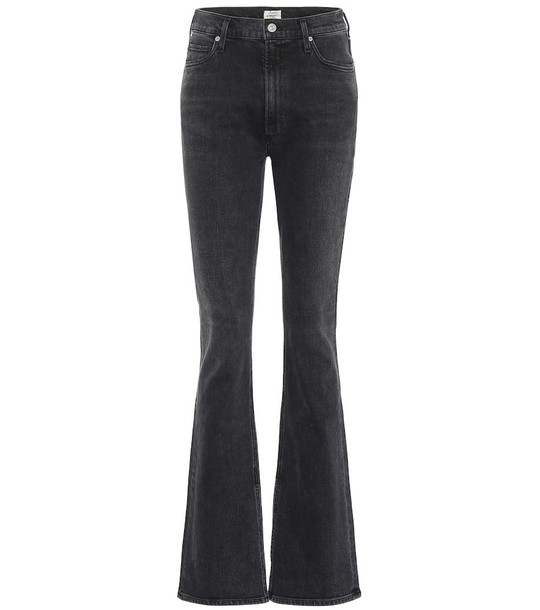 Citizens of Humanity Georgia high-rise bootcut jeans in black