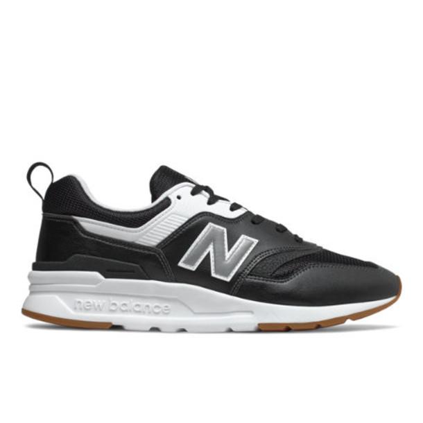 New Balance 997H Men's Classics Shoes - Black/Silver (CM997HCO)