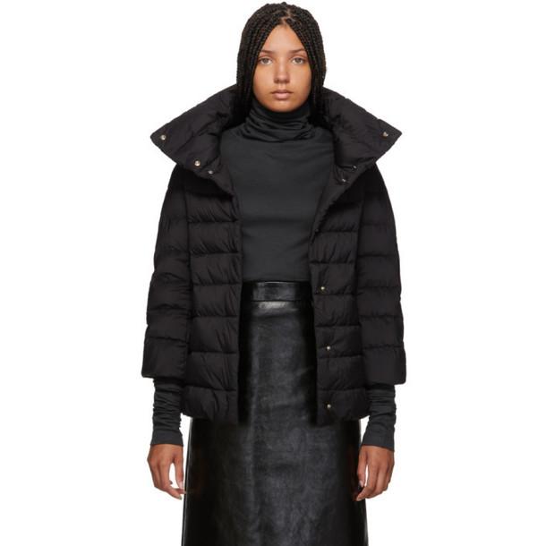Herno Black Down Aminta Jacket
