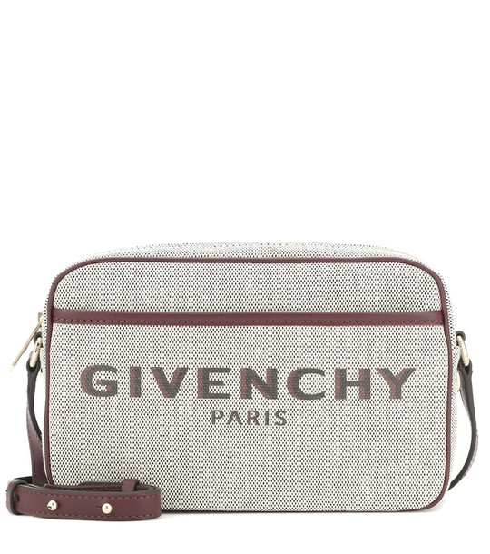 Givenchy Bond Small canvas camera bag in beige