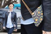 clutch,bag,bead,yellow bag,orange bag,brown bag,blue bag