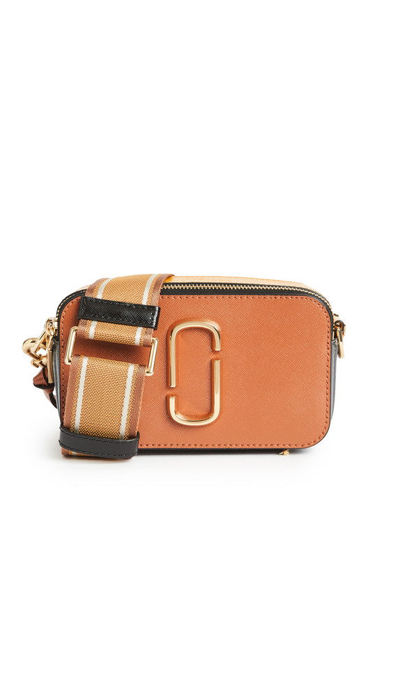 The Marc Jacobs Snapshot Camera Bag in brown / multi