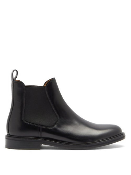 A.P.C. A.P.C. - Johanne Leather Chelsea Boots - Womens - Black