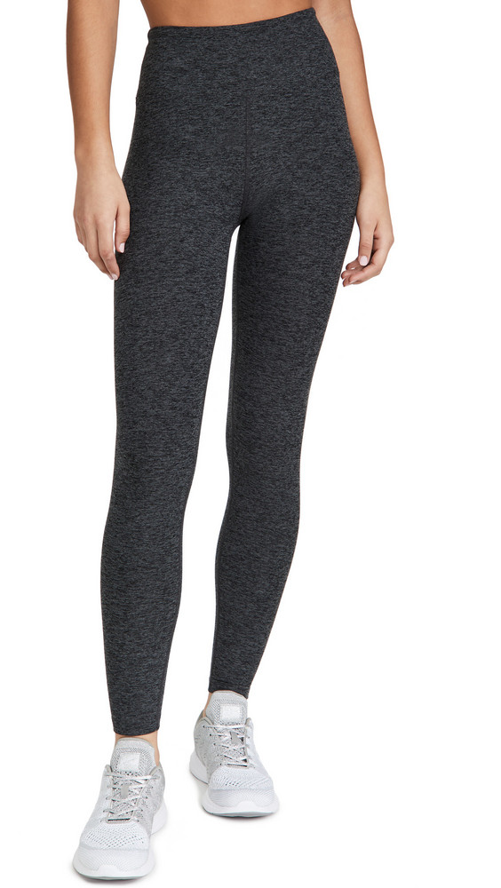 Year of Ours Yoga Leggings in charcoal
