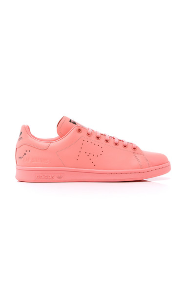 adidas by Raf Simons Unisex Stan Smith Leather Sneakers Size: 6.5 in pink