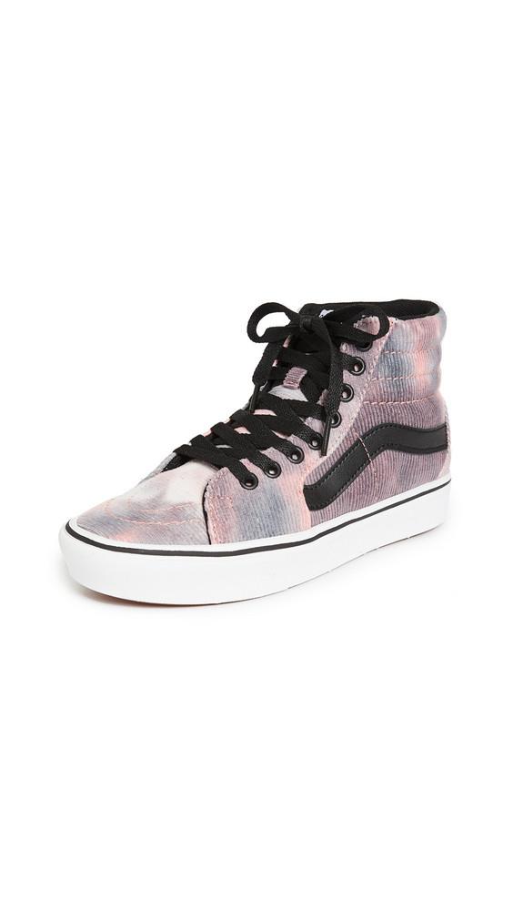 Vans UA Comfycush Sk8-Hi Sneakers in pink / multi
