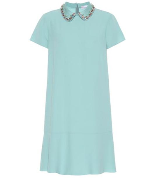 REDValentino Embellished minidress in blue