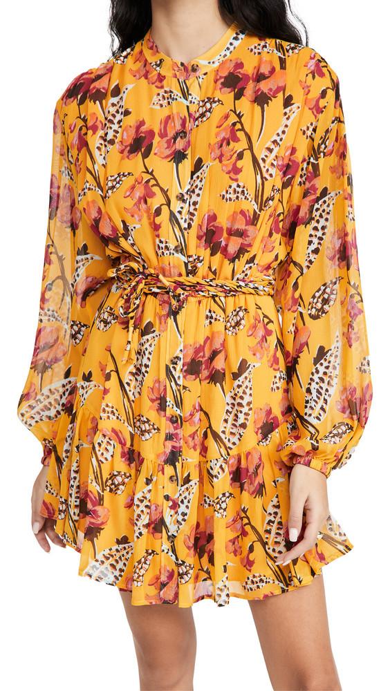 A.L.C. A.L.C. Jen Dress in yellow / multi