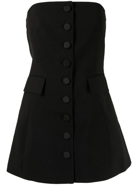 Kimhekim Emma wool mini dress in black